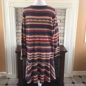 Lauren Ralph Lauren Dresses - Lauren Jeans Co Long sleeve multi color dress 3X